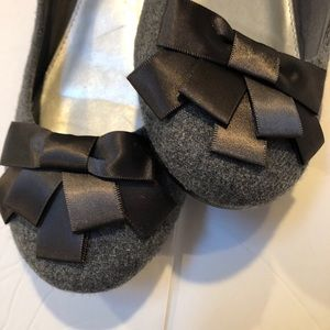 Fergalicious Adele Ballet Flats w/ Bow
